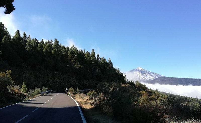 Met Ride Base de Teide beklimmen